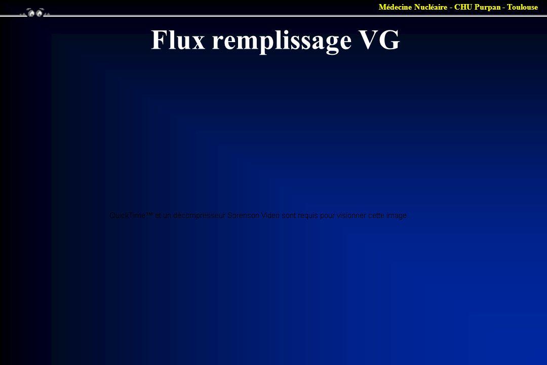 Flux remplissage VG