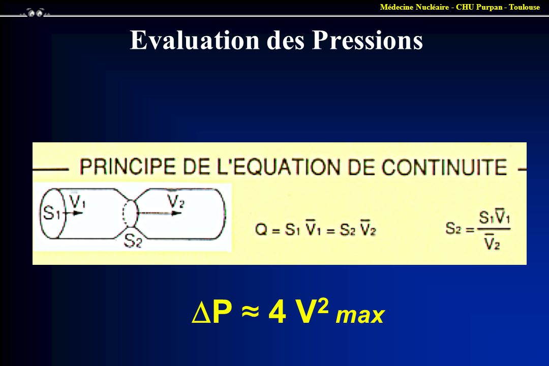 Evaluation des Pressions