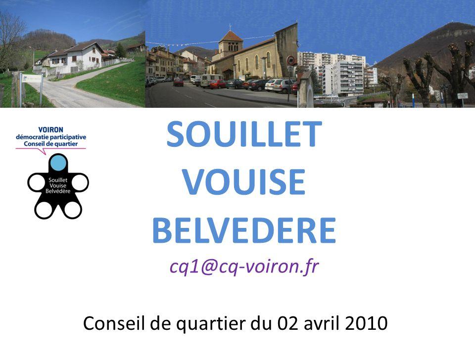 Conseil de quartier du 02 avril 2010