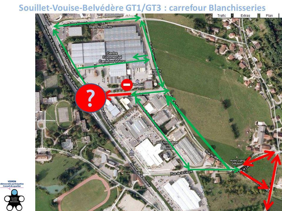 Souillet-Vouise-Belvédère GT1/GT3 : carrefour Blanchisseries