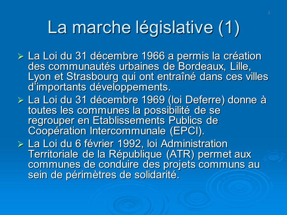 La marche législative (1)