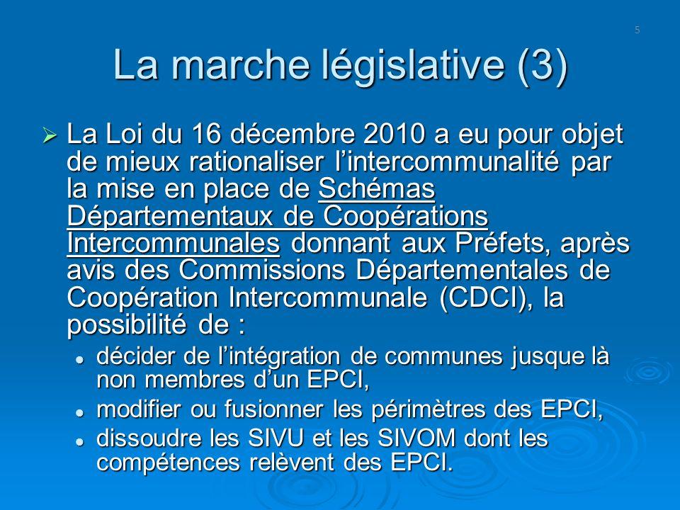 La marche législative (3)