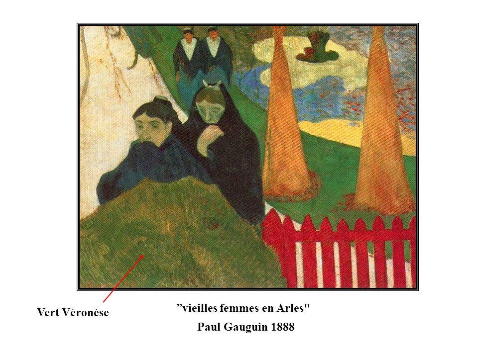 vieilles femmes en Arles Paul Gauguin 1888