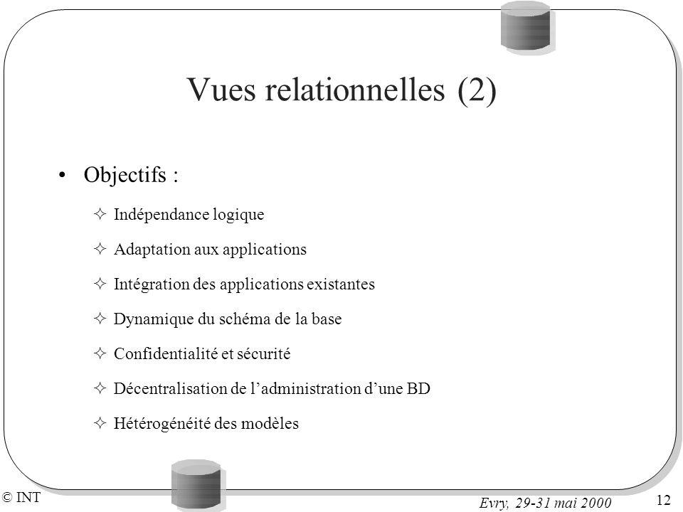 Vues relationnelles (2)