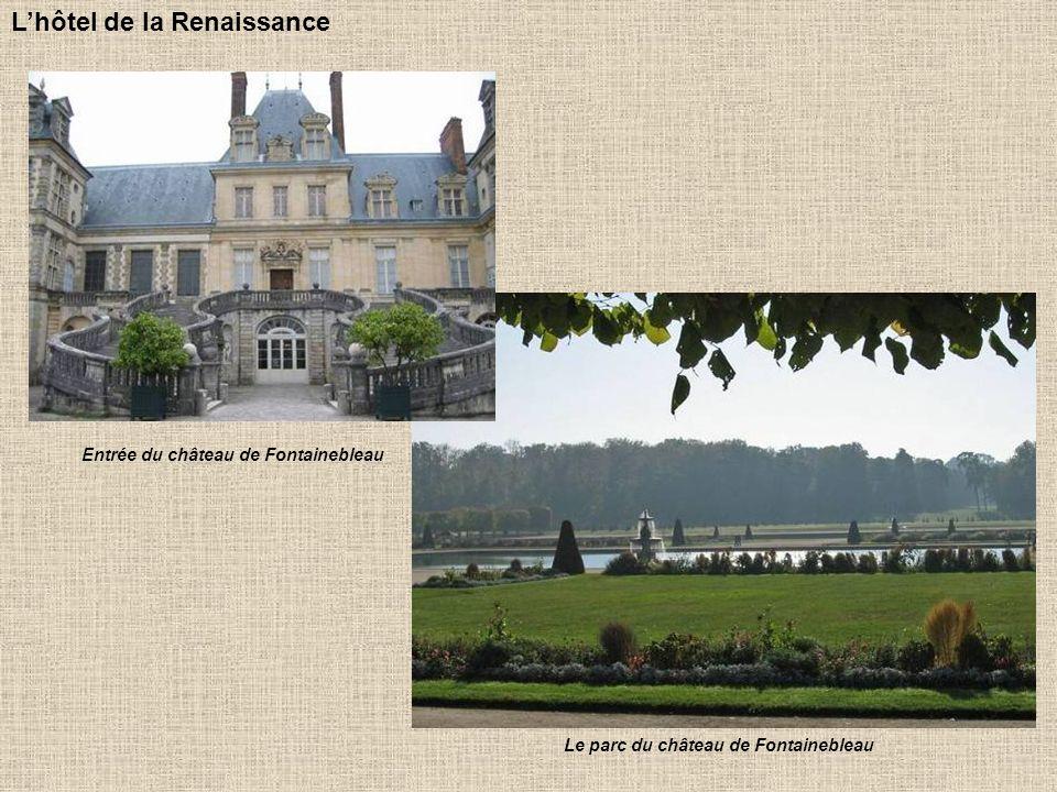 Entrée du château de Fontainebleau