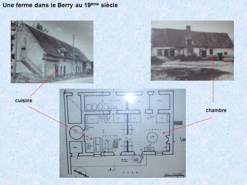 Une ferme dans le Berry au 19ème siècle
