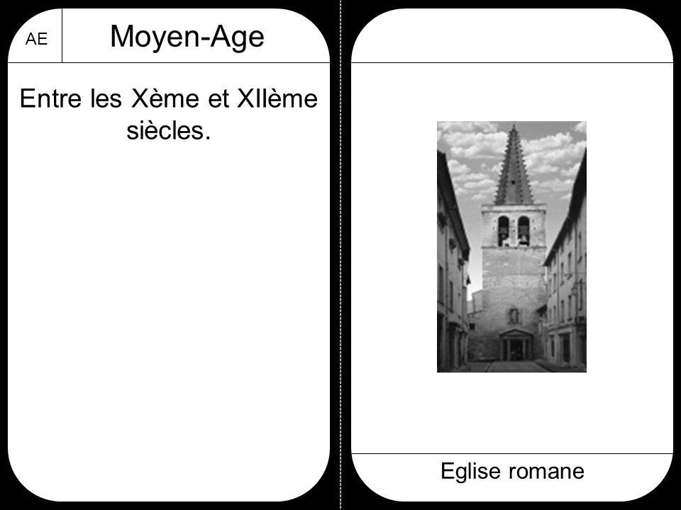 Entre les Xème et XIIème siècles.