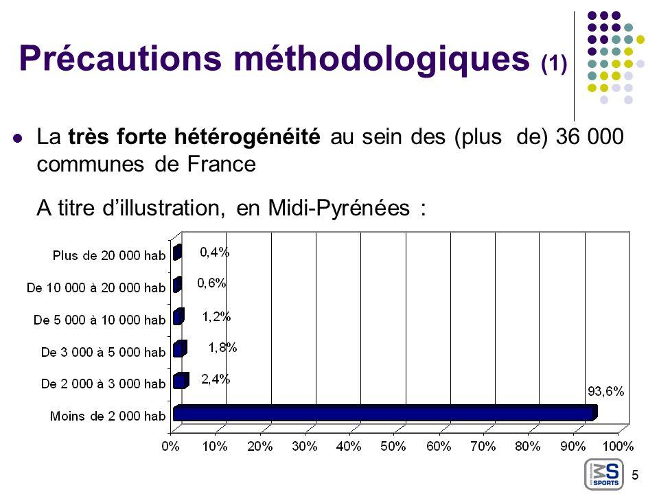 Précautions méthodologiques (1)