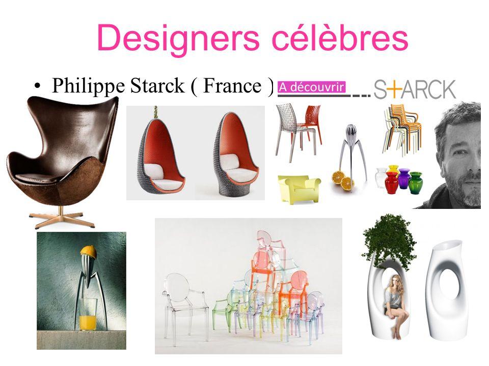 Designers célèbres Philippe Starck ( France ).
