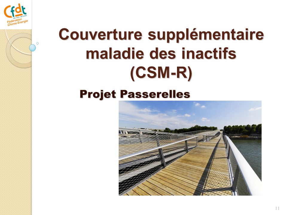Couverture supplémentaire maladie des inactifs (CSM-R)