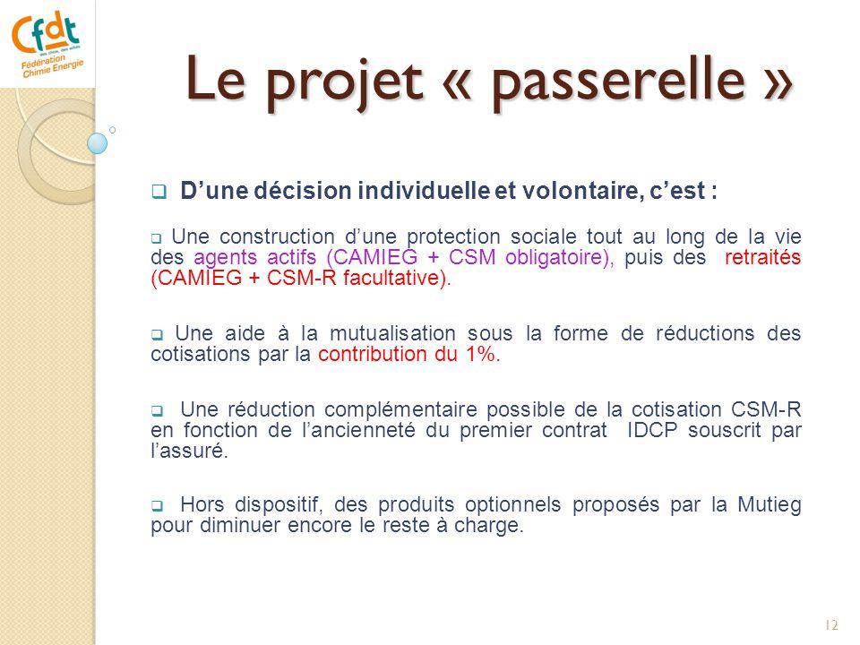 Le projet « passerelle »