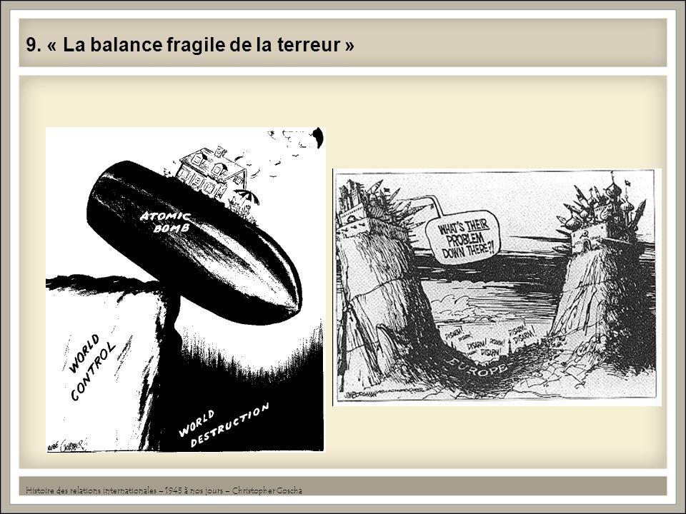 9. « La balance fragile de la terreur »