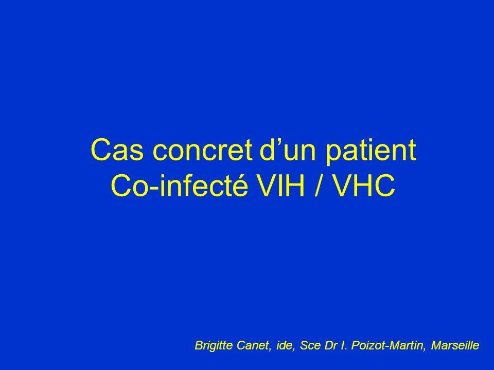 Cas concret d'un patient Co-infecté VIH / VHC