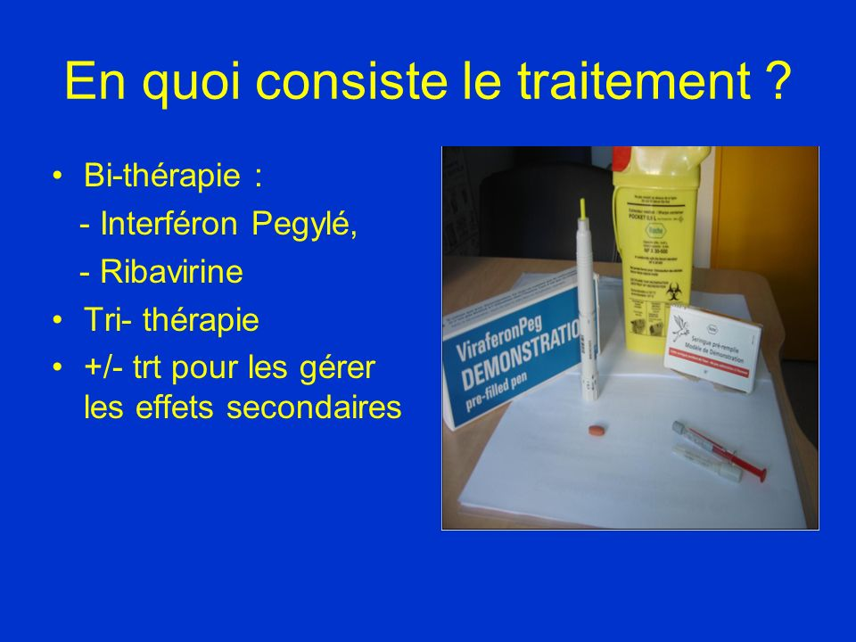 En quoi consiste le traitement