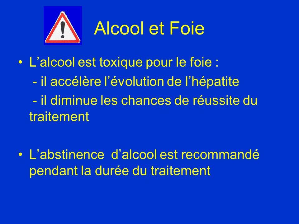 Alcool et Foie L'alcool est toxique pour le foie :