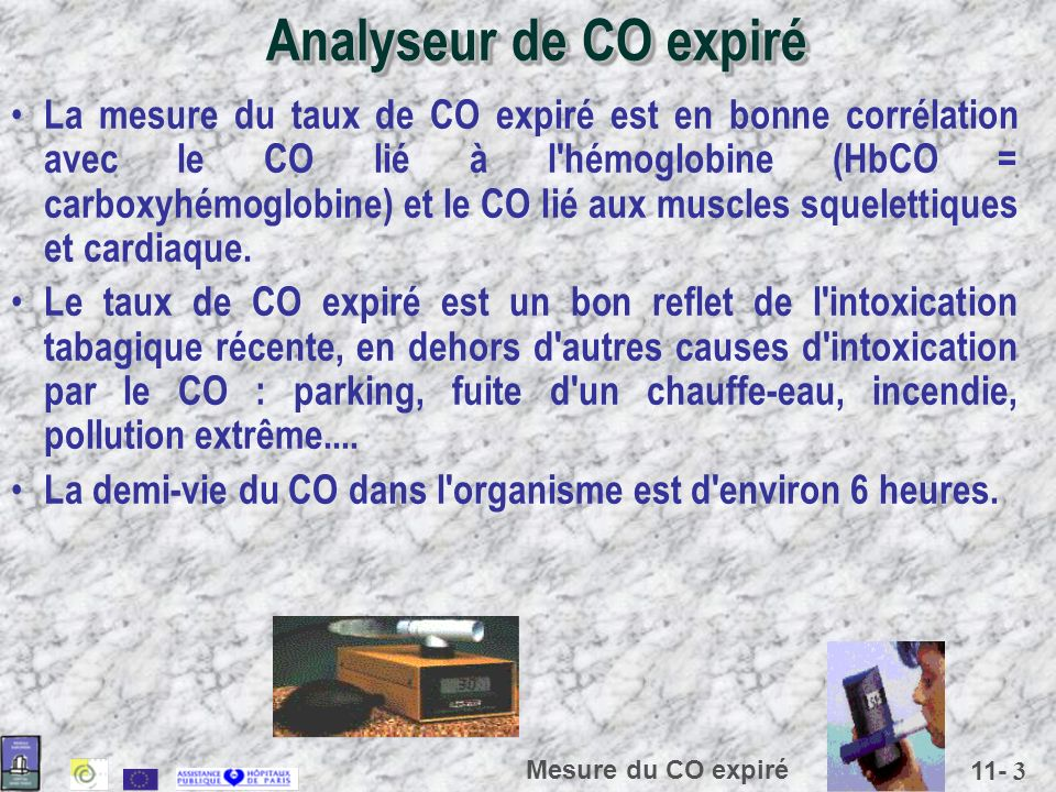 Analyseur de CO expiré