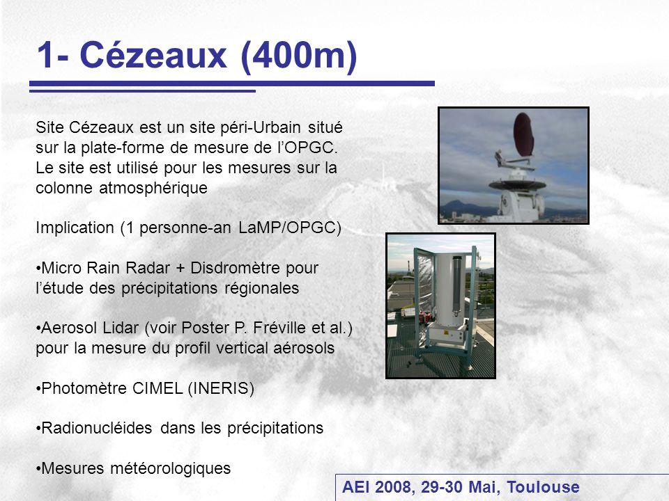 1- Cézeaux (400m)
