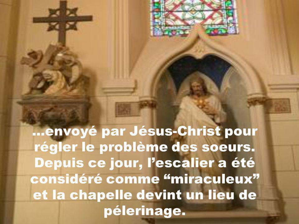 envoyé par Jésus-Christ pour régler le problème des soeurs