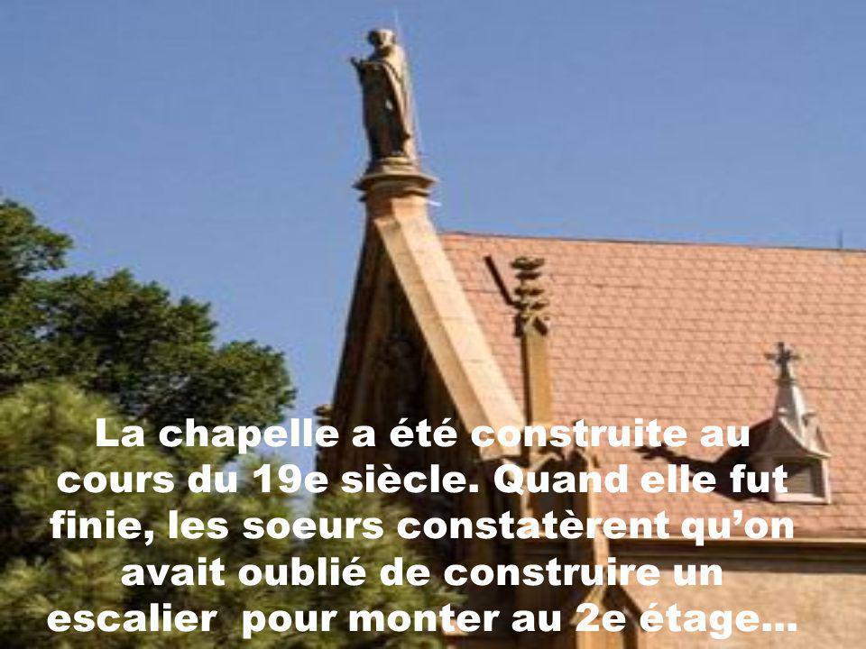 La chapelle a été construite au cours du 19e siècle