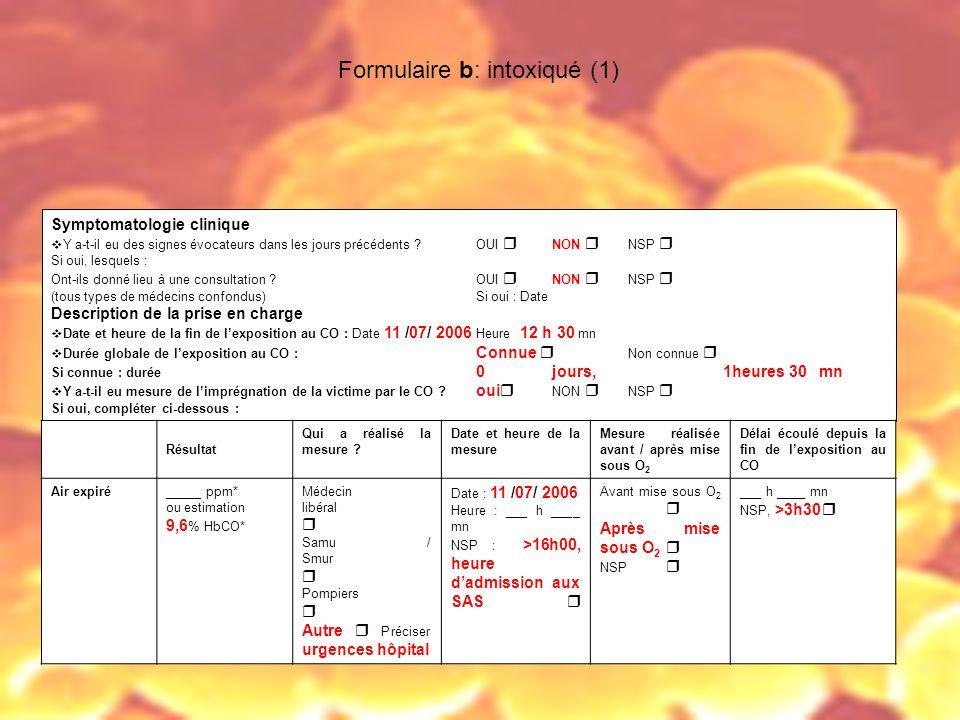 Formulaire b: intoxiqué (1)