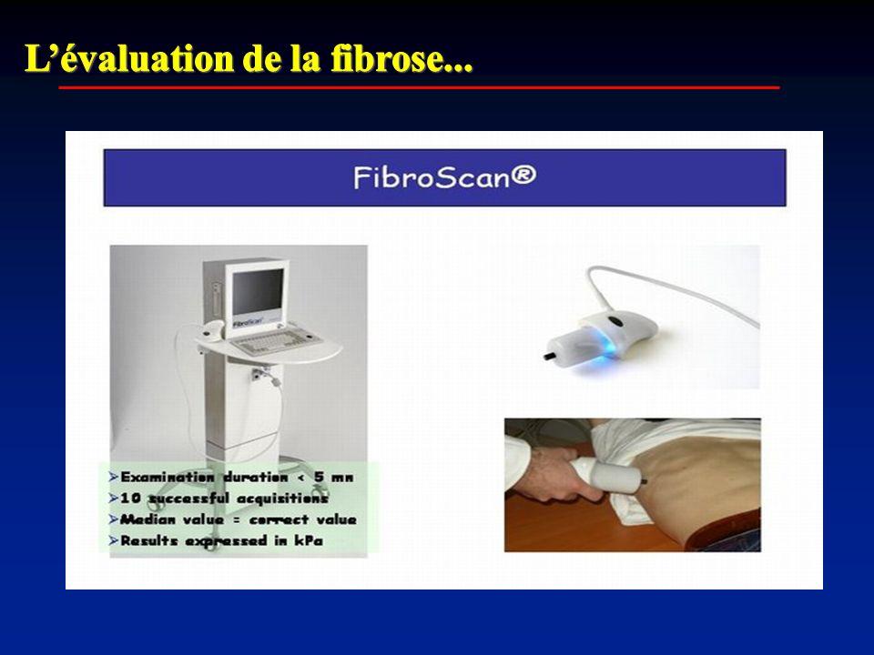 L'évaluation de la fibrose...