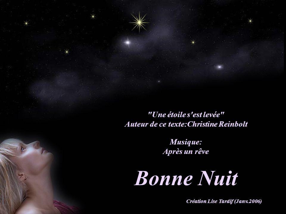 Auteur de ce texte:Christine Reinbolt Création Lise Tardif (Janv.2006)