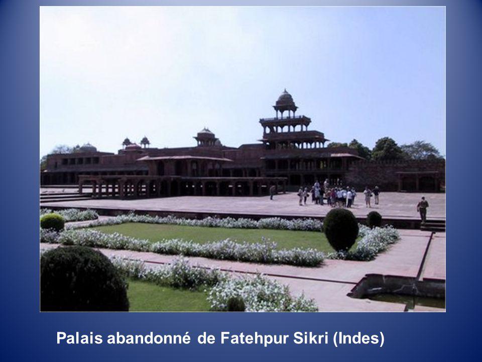 Palais abandonné de Fatehpur Sikri (Indes)