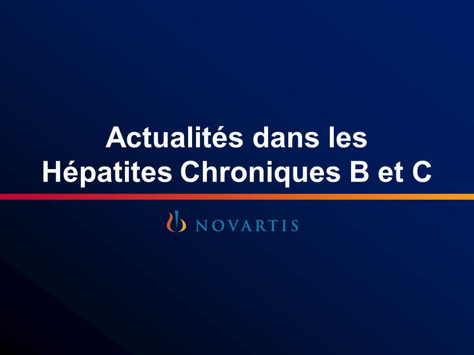 Actualités dans les Hépatites Chroniques B et C