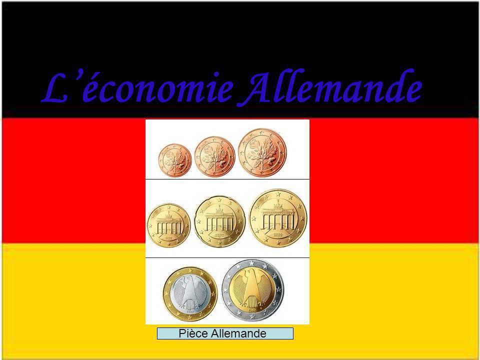 L'économie Allemande Pièce Allemande