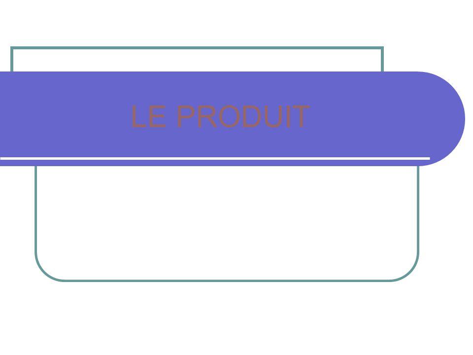 LE PRODUIT