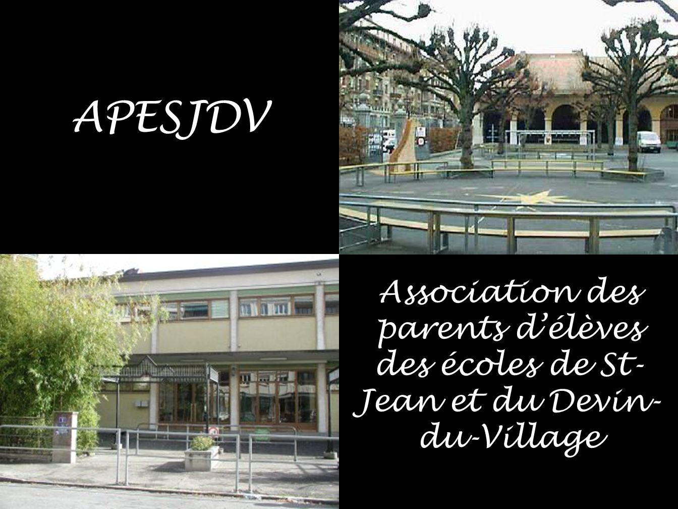 APESJDV Association des parents d'élèves des écoles de St-Jean et du Devin-du-Village