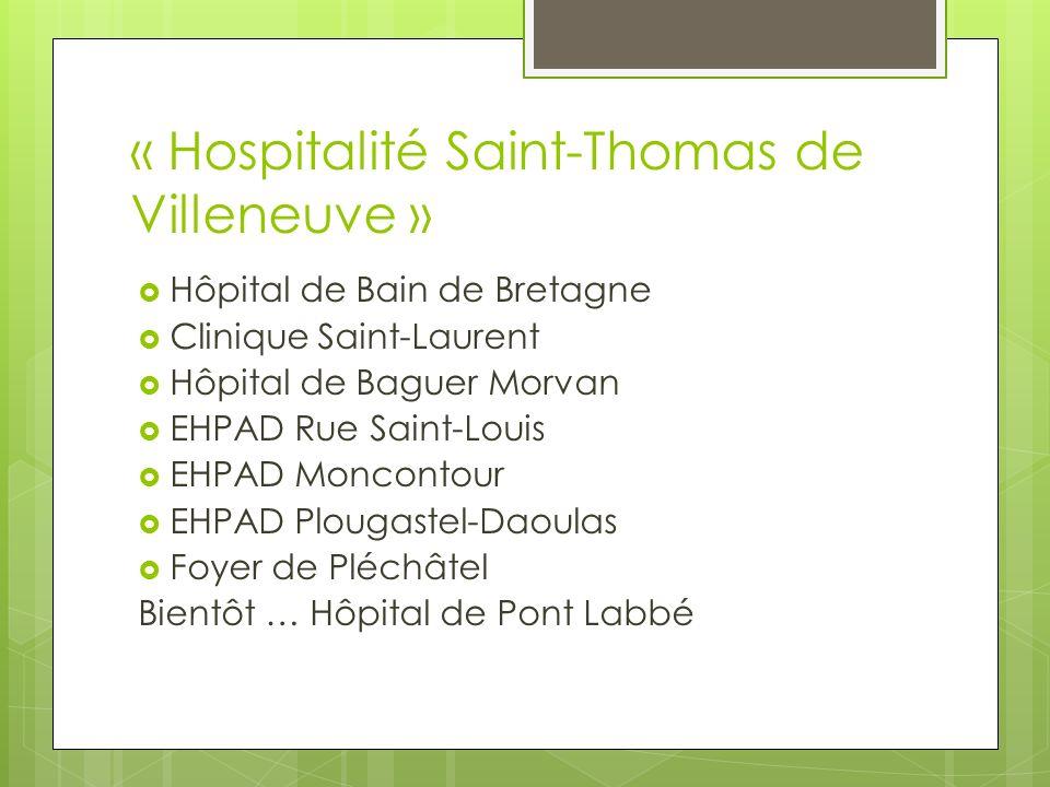 « Hospitalité Saint-Thomas de Villeneuve »
