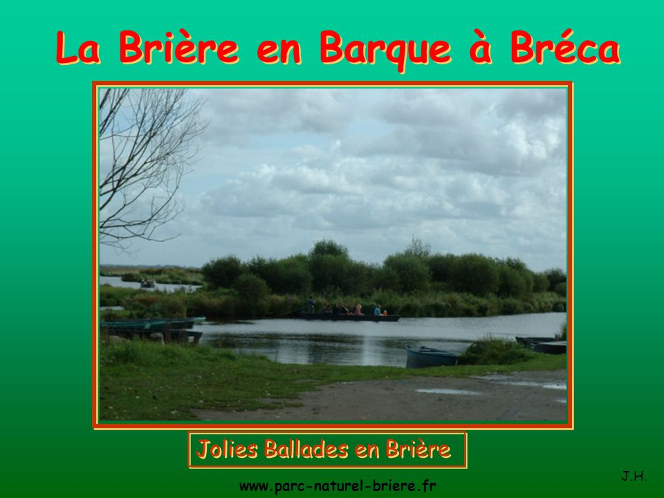 La Brière en Barque à Bréca