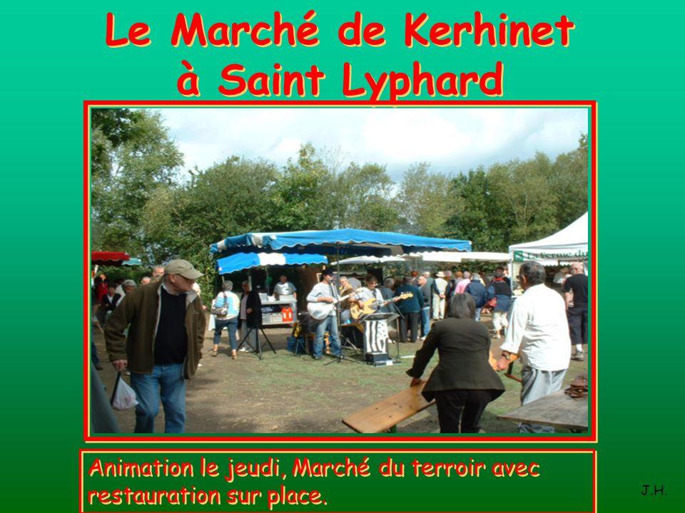 Le Marché de Kerhinet à Saint Lyphard