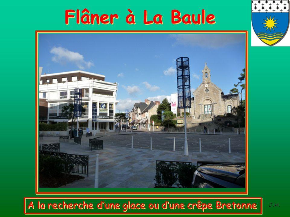 Flâner à La Baule A la recherche d'une glace ou d'une crêpe Bretonne