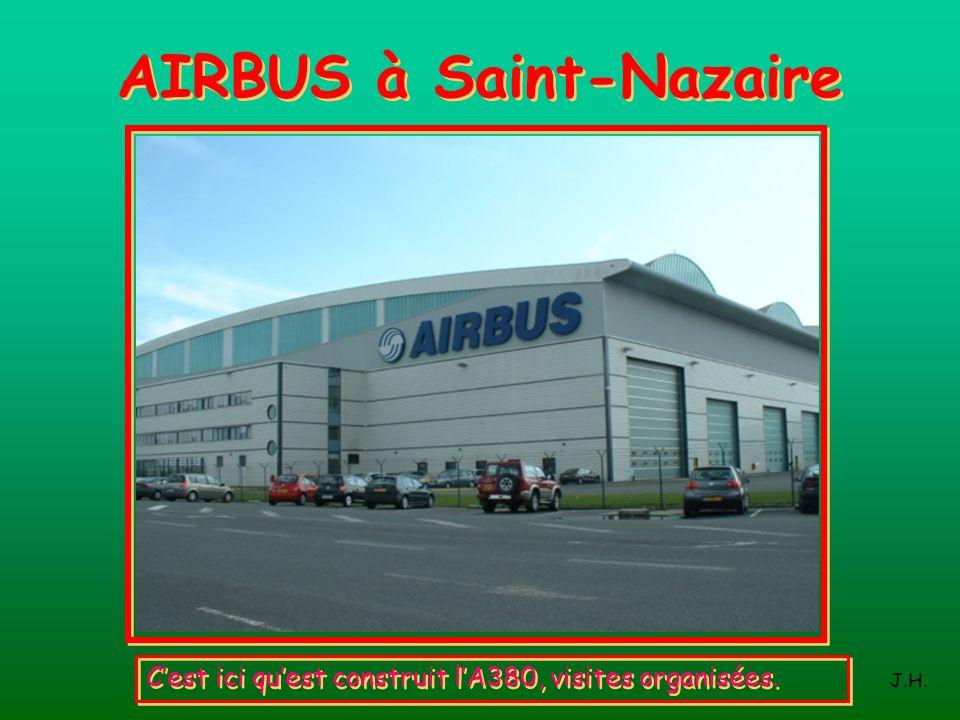 AIRBUS à Saint-Nazaire