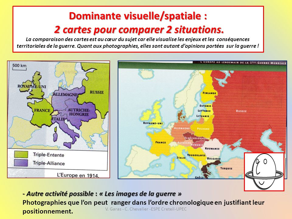 V. Garas - C. Chevalier -ESPE Creteil-UPEC