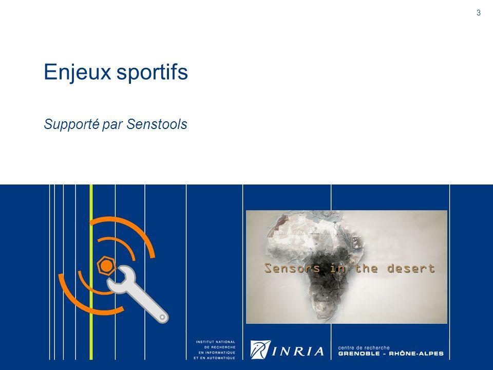 Enjeux sportifs Supporté par Senstools