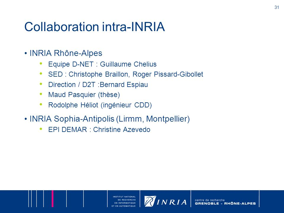 Collaboration intra-INRIA