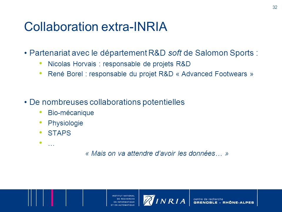 Collaboration extra-INRIA