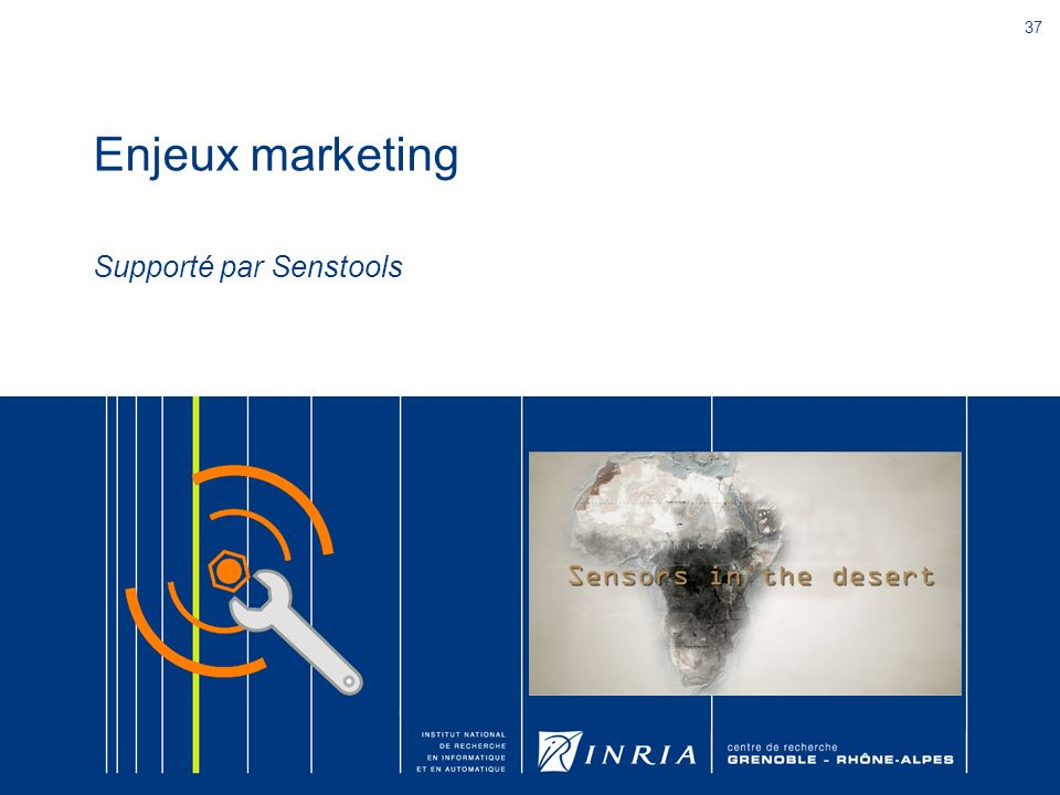 Enjeux marketing Supporté par Senstools