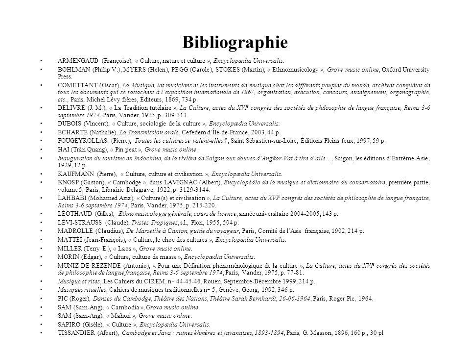 Bibliographie ARMENGAUD (Françoise), « Culture, nature et culture », Encyclopædia Universalis.