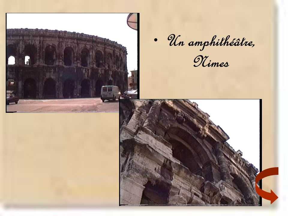 Un amphithéâtre, Nimes