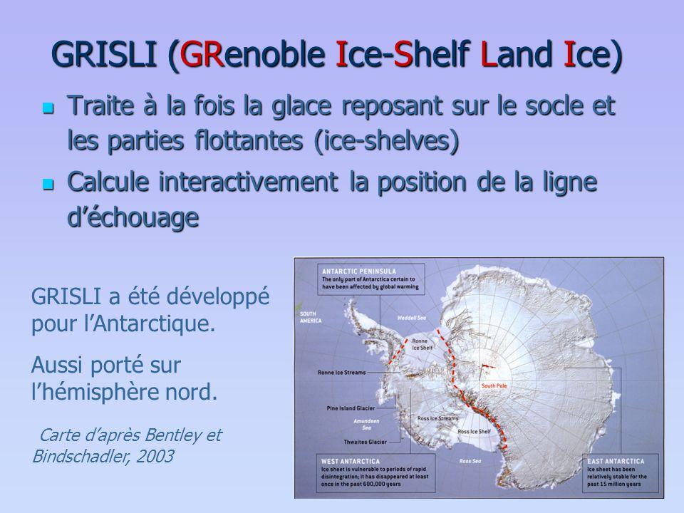 GRISLI (GRenoble Ice-Shelf Land Ice)