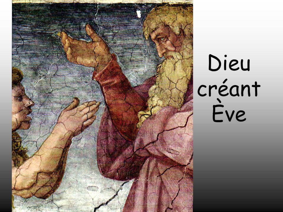 Dieu créant Ève