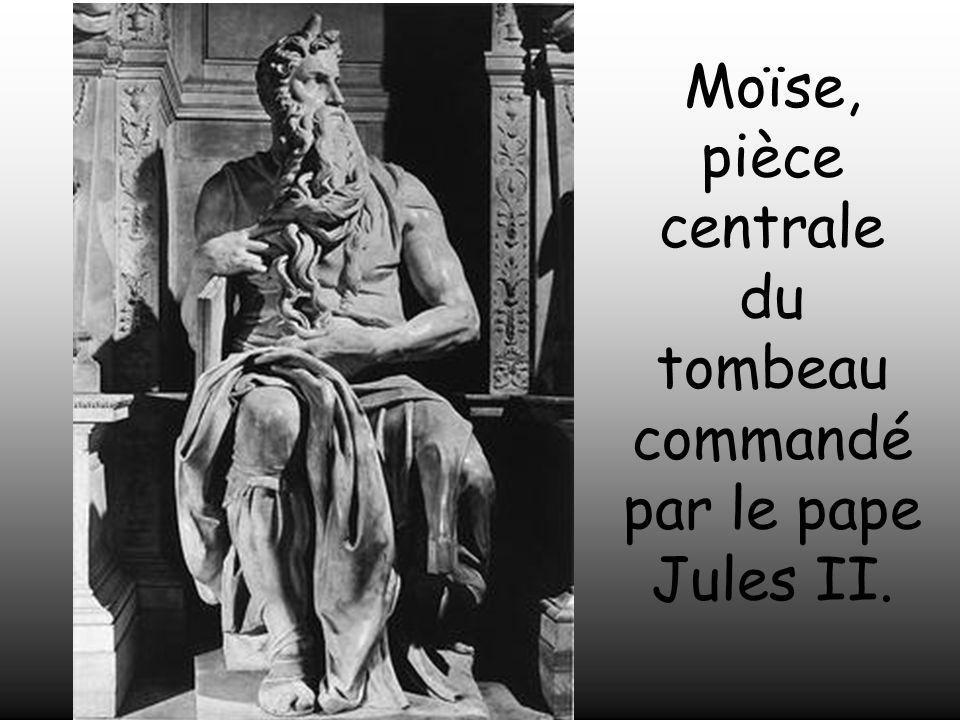 Moïse, pièce centrale du tombeau commandé par le pape Jules II.