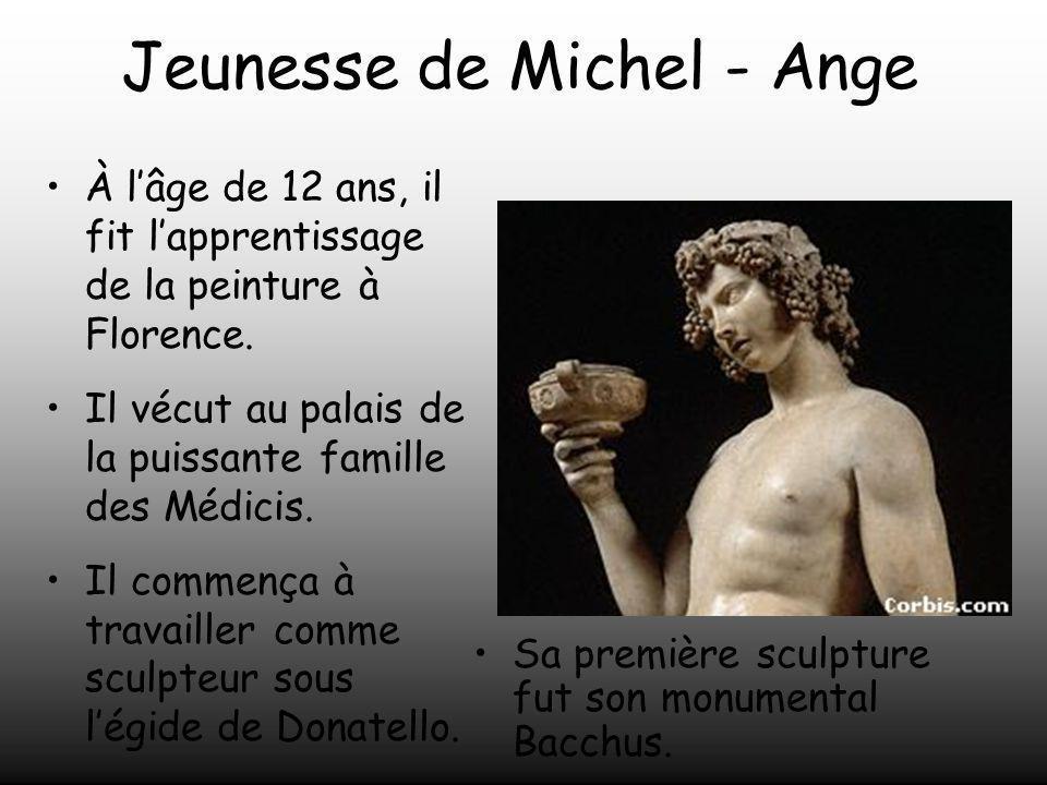 Jeunesse de Michel - Ange