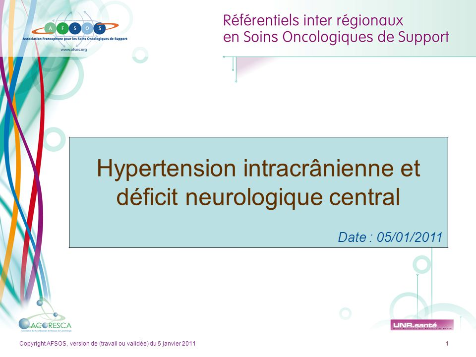 Hypertension intracrânienne et déficit neurologique central