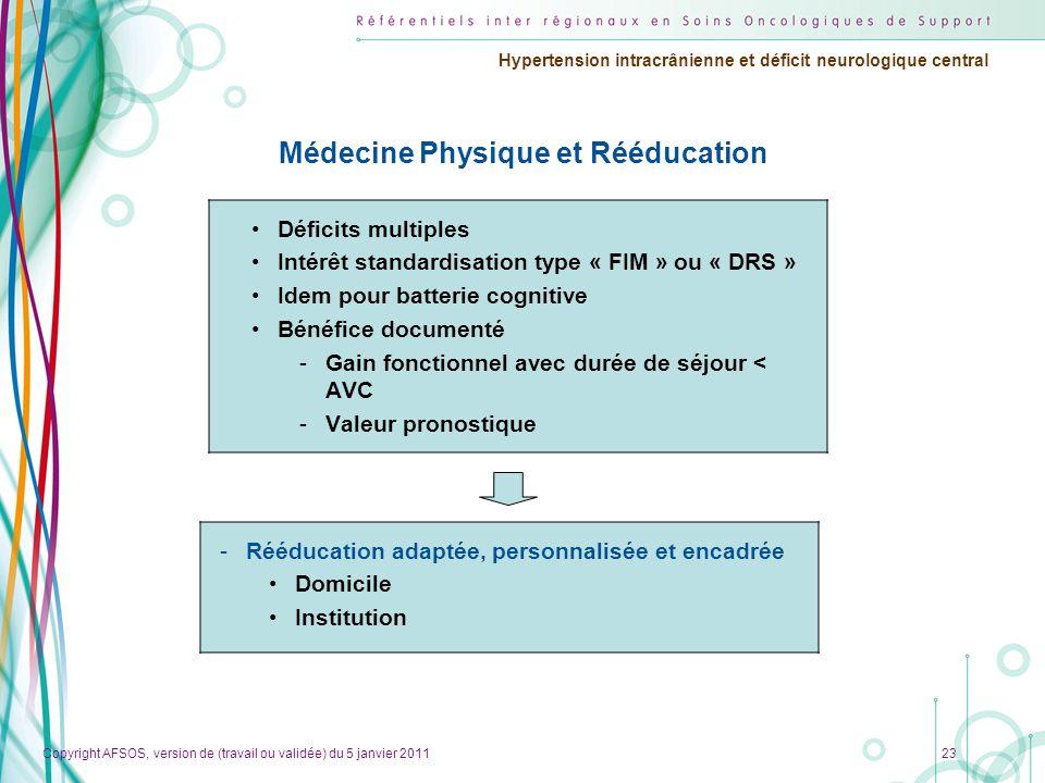 Médecine Physique et Rééducation
