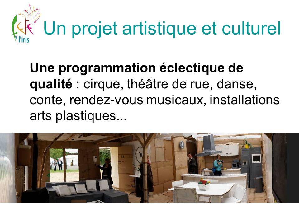 Un projet artistique et culturel